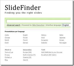 SlideFinder